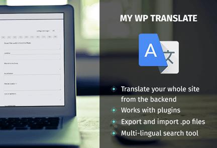 My WP Translate-plugin