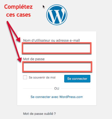 conection wordpress