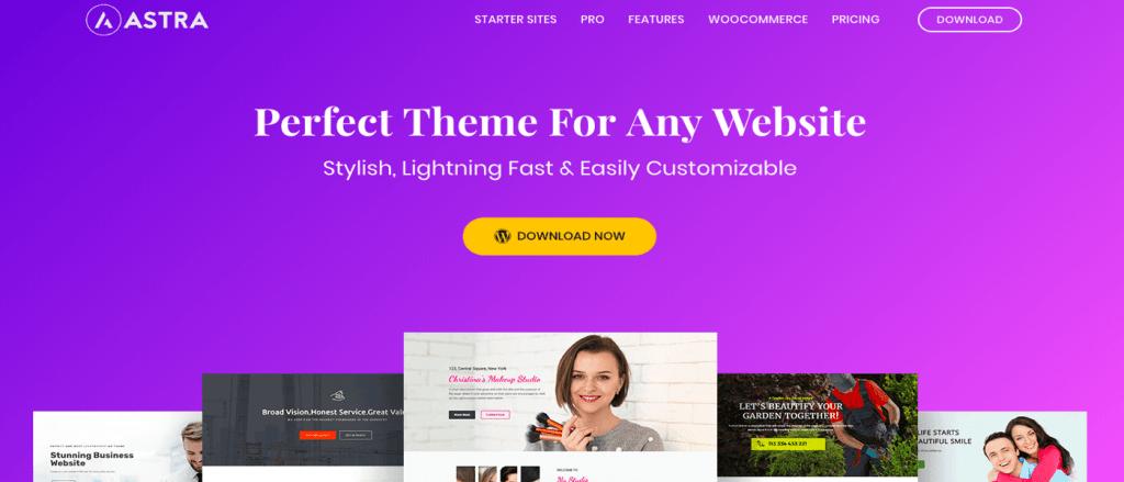 theme wordpress - Astra