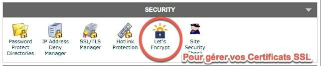 Certificats SSL offers gratuitement